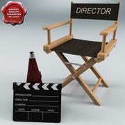 Yönetmen Kümesi 3d model