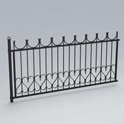 围栏029 3d model