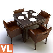 Grupo de jantar 3d model
