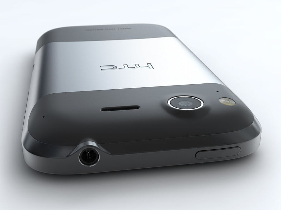 HTC Desire S royalty-free 3d model - Preview no. 13