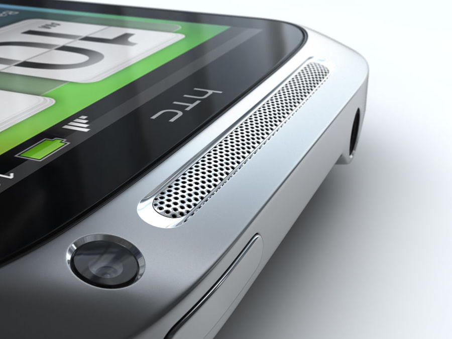 HTC Desire S royalty-free 3d model - Preview no. 19