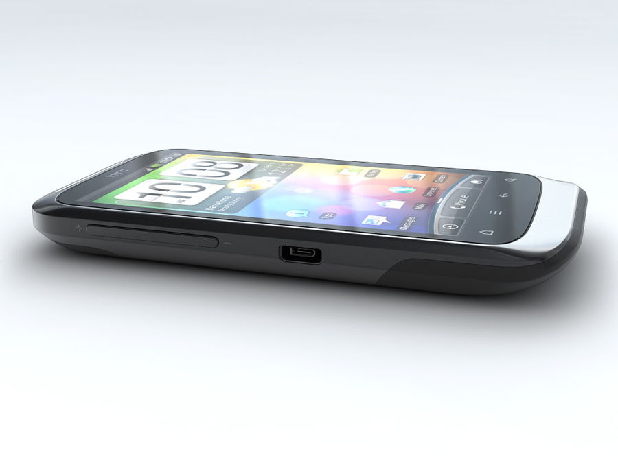 HTC Desire S royalty-free 3d model - Preview no. 8