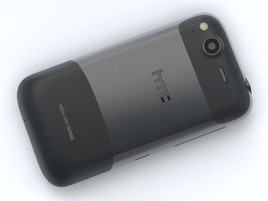 HTC Desire S royalty-free 3d model - Preview no. 17