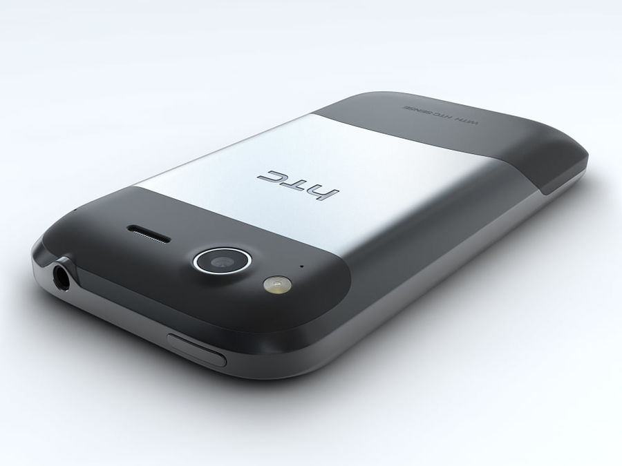 HTC Desire S royalty-free 3d model - Preview no. 12