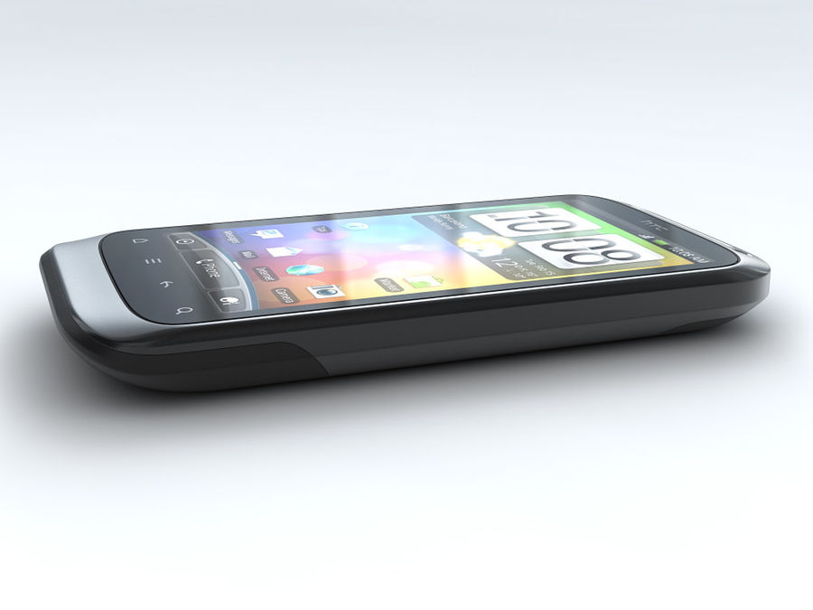 HTC Desire S royalty-free 3d model - Preview no. 7