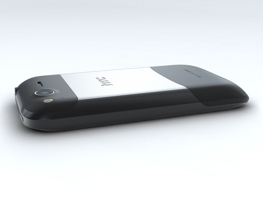 HTC Desire S royalty-free 3d model - Preview no. 15