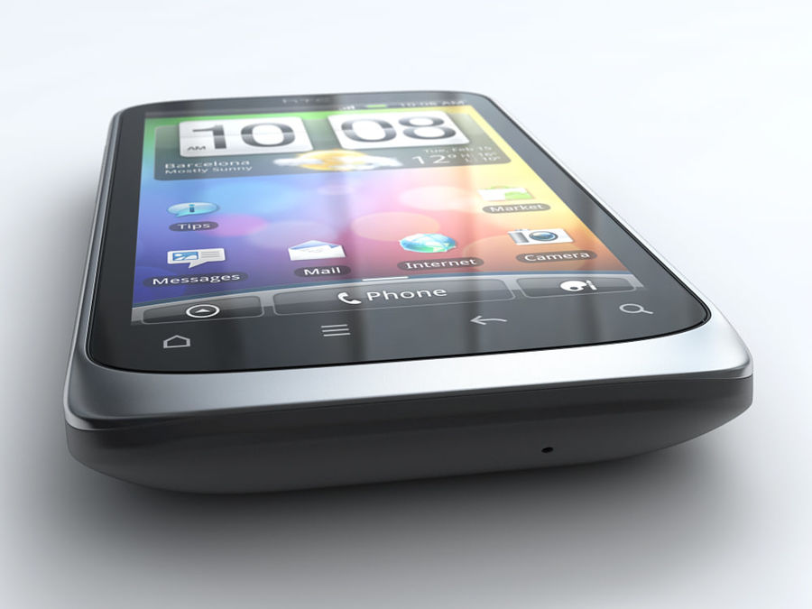 HTC Desire S royalty-free 3d model - Preview no. 5