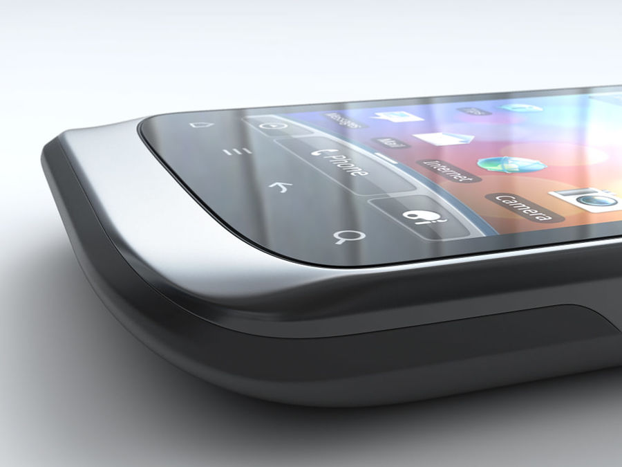 HTC Desire S royalty-free 3d model - Preview no. 18