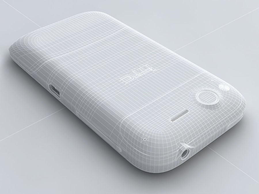 HTC Desire S royalty-free 3d model - Preview no. 22