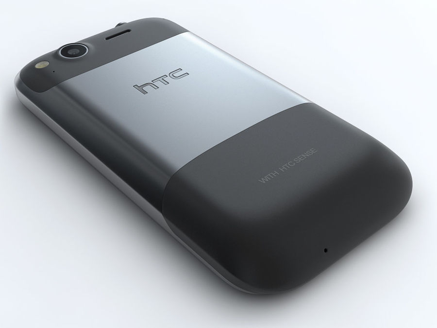 HTC Desire S royalty-free 3d model - Preview no. 11