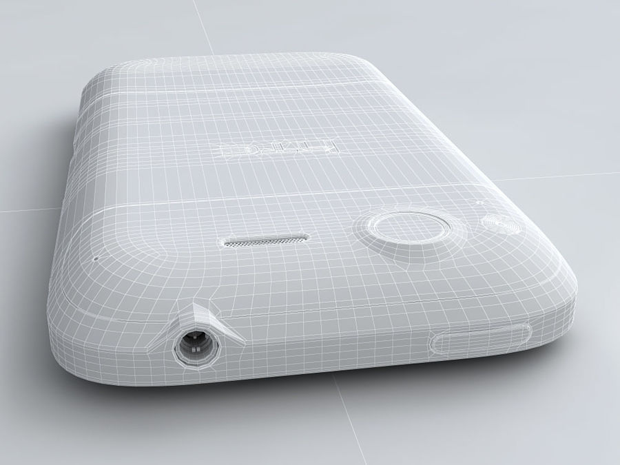 HTC Desire S royalty-free 3d model - Preview no. 24