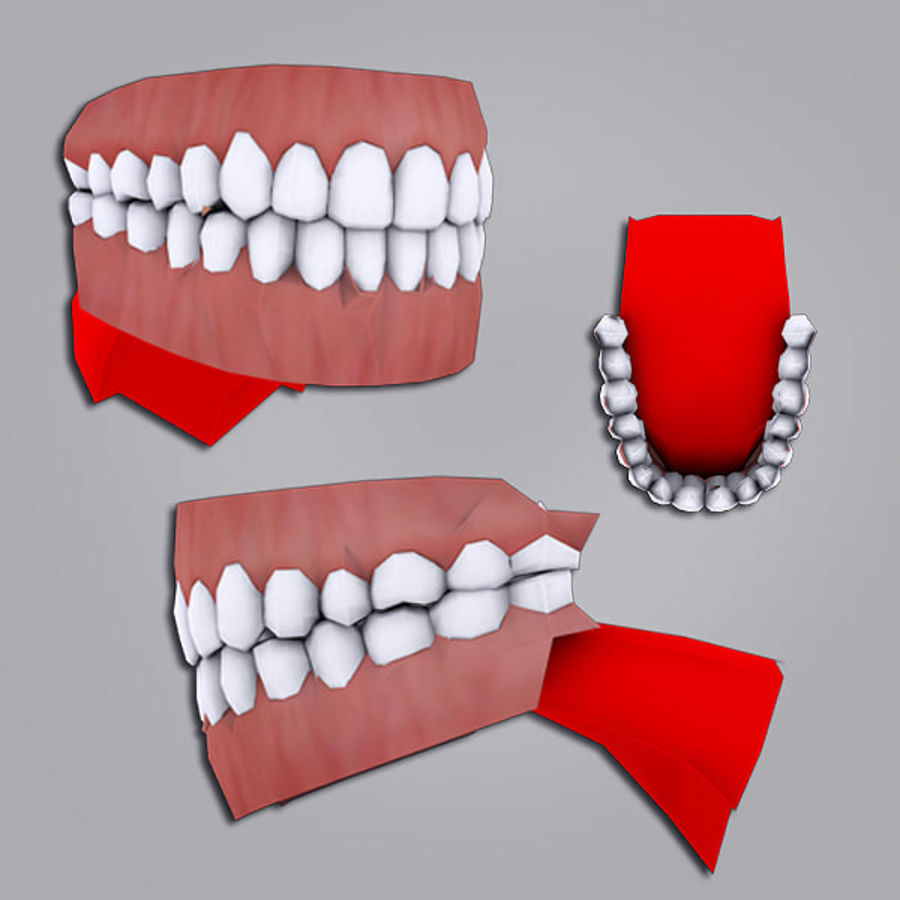 Joey Office royalty-free 3d model - Preview no. 8