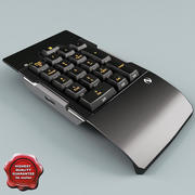 Clavier numérique 3d model