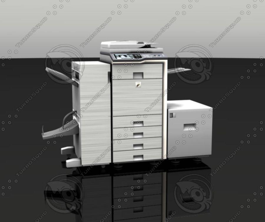 Copiatrice dettagliata royalty-free 3d model - Preview no. 1