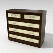 Chest of Drawers 01 3d model
