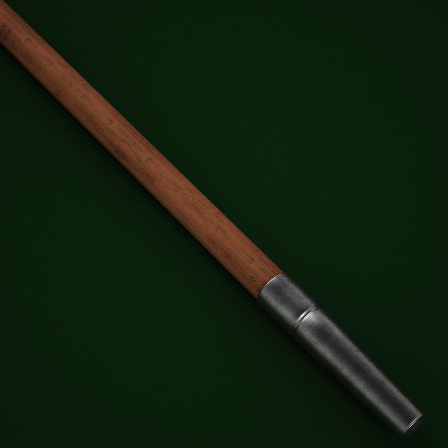 Medieval Spear V1 royalty-free 3d model - Preview no. 4
