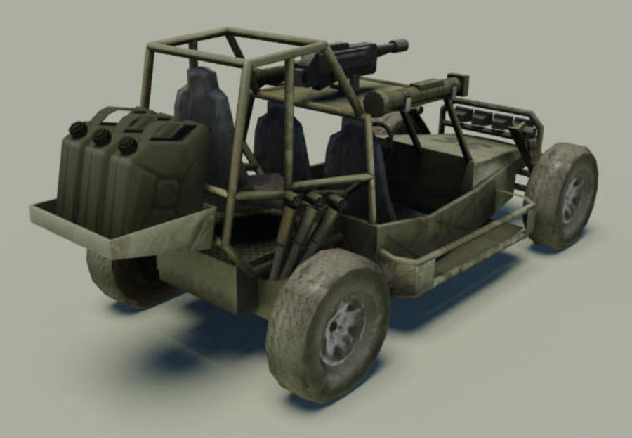 buggy royalty-free 3d model - Preview no. 2
