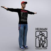 조이 캐주얼 3d model