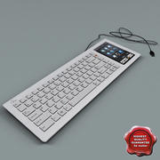 Asus Eee Keyboard PC 3d model