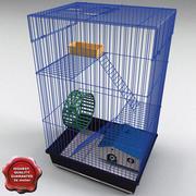 Klatka dla zwierząt duża 3d model