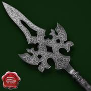 Medieval Spear V3 3d model