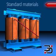 Resin moulded transformer 3d model