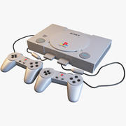 PlayStation 1 3d model