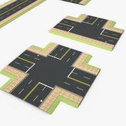 Roads 2 3d model