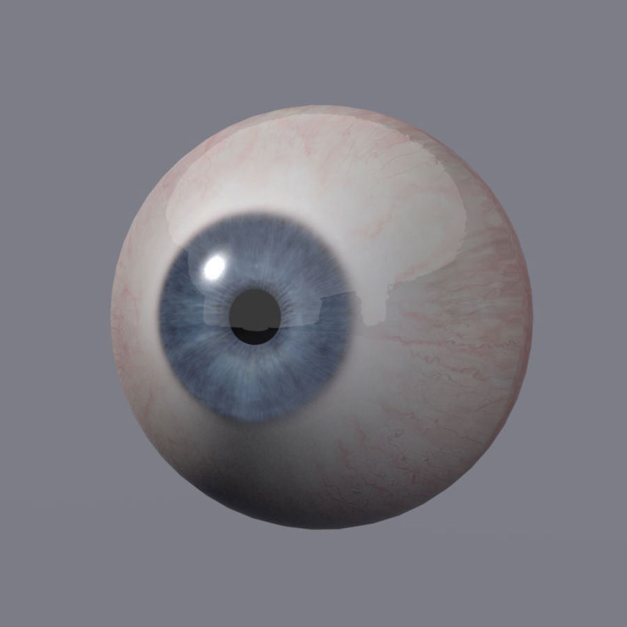 Realistic 3d Eyes royalty-free 3d model - Preview no. 4
