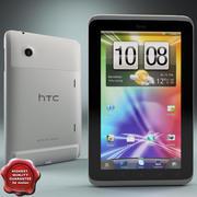 HTC Flyer Tablet modelo 3d