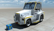 Aircraft Tug Truck 3d model
