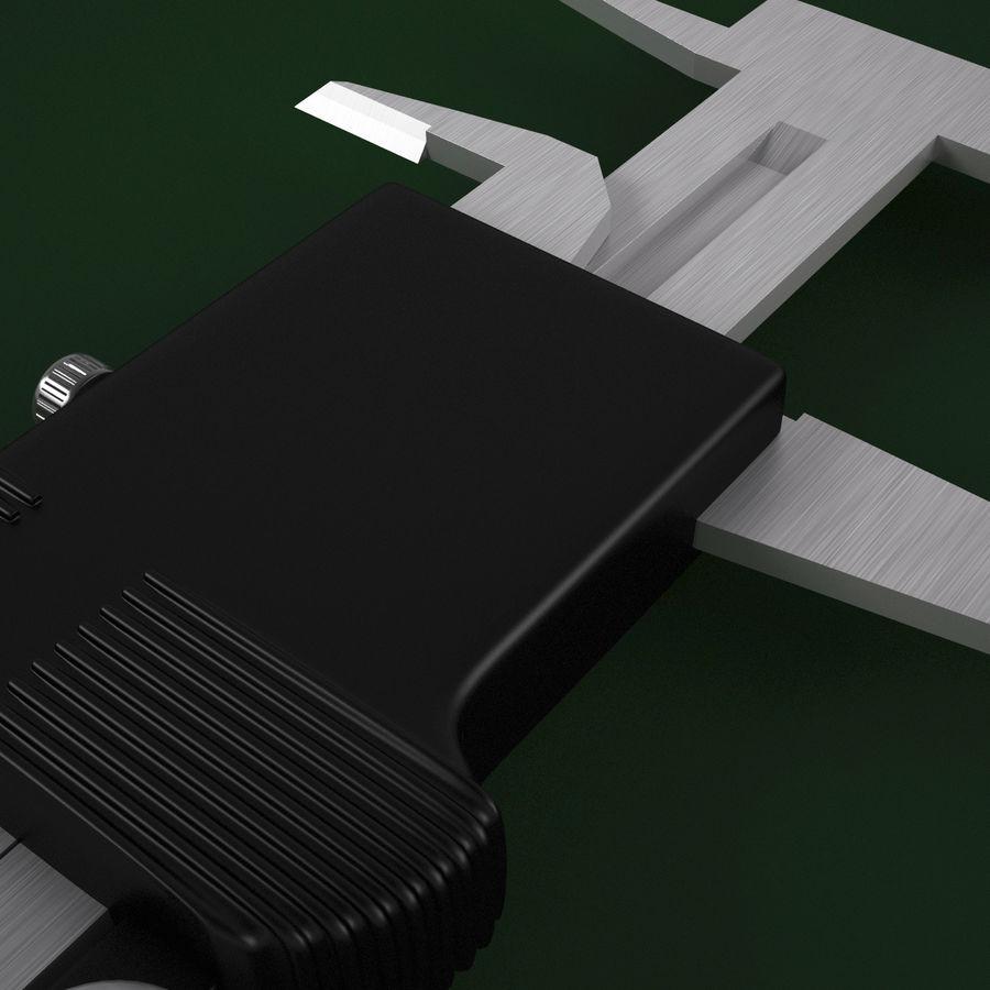 Compasso de calibre digital eletrônico royalty-free 3d model - Preview no. 17