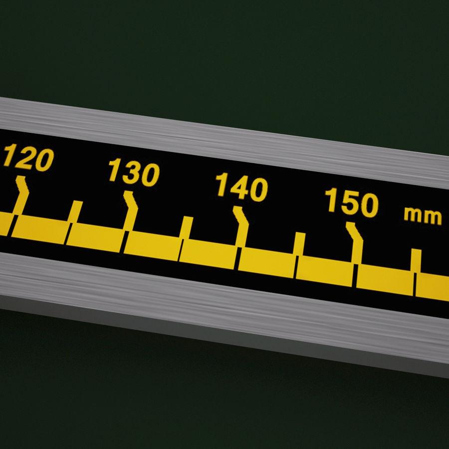 Compasso de calibre digital eletrônico royalty-free 3d model - Preview no. 9