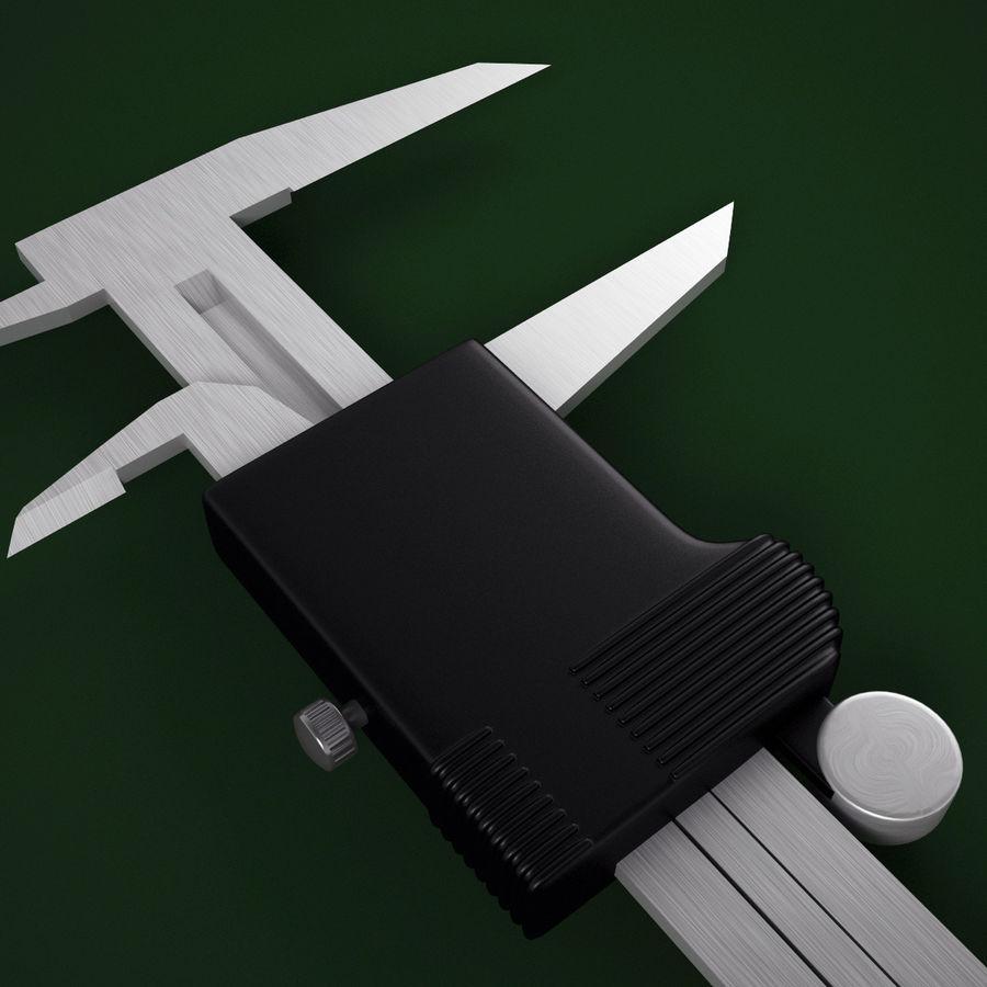 电子数字卡尺 royalty-free 3d model - Preview no. 15