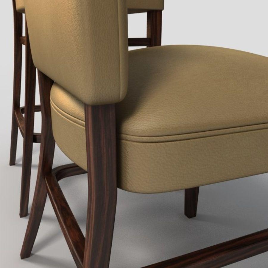 Jadalnia Krzesło I Bar Stołek royalty-free 3d model - Preview no. 11
