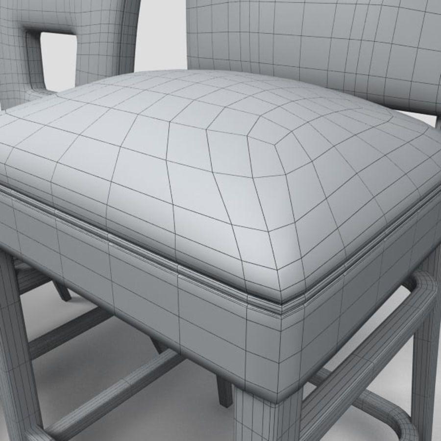 Jadalnia Krzesło I Bar Stołek royalty-free 3d model - Preview no. 14