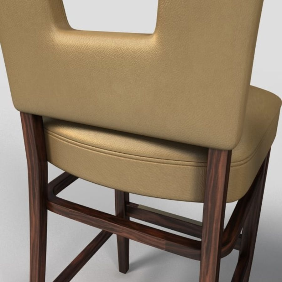 Jadalnia Krzesło I Bar Stołek royalty-free 3d model - Preview no. 10