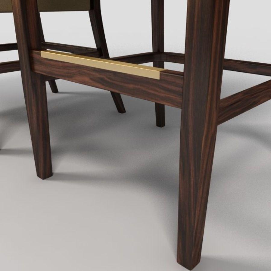 Jadalnia Krzesło I Bar Stołek royalty-free 3d model - Preview no. 7