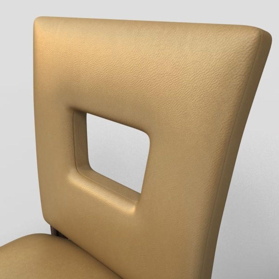 Jadalnia Krzesło I Bar Stołek royalty-free 3d model - Preview no. 5