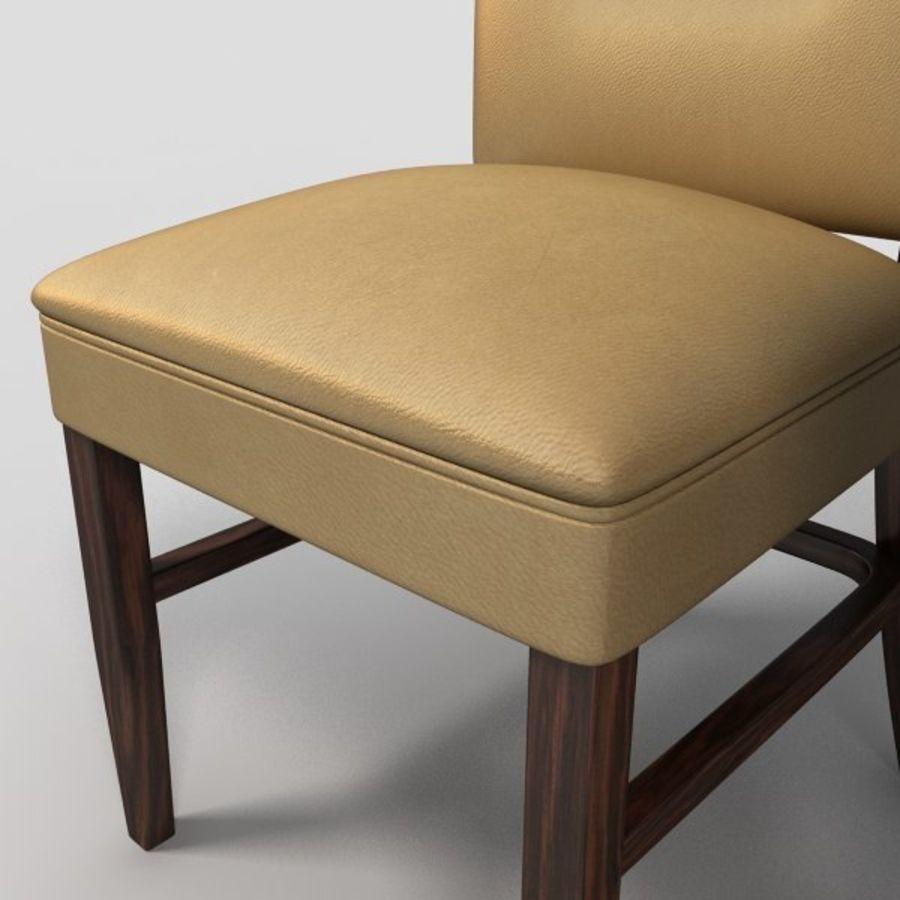 Jadalnia Krzesło I Bar Stołek royalty-free 3d model - Preview no. 4