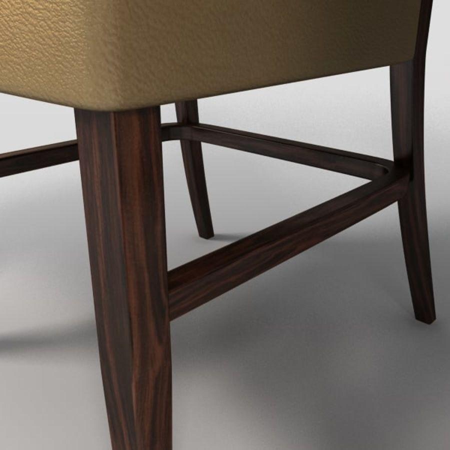 Jadalnia Krzesło I Bar Stołek royalty-free 3d model - Preview no. 6