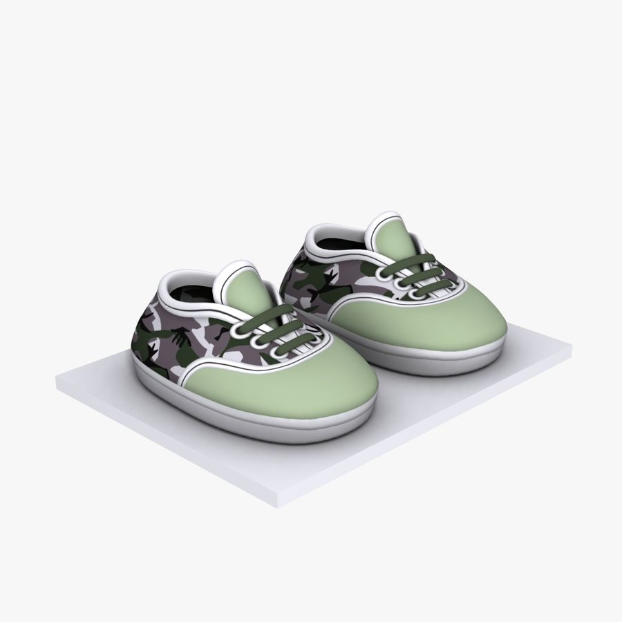 Cartoon Shoes 02(5テクスチャバリエーション) royalty-free 3d model - Preview no. 5