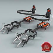 Sztywne Raki 3d model