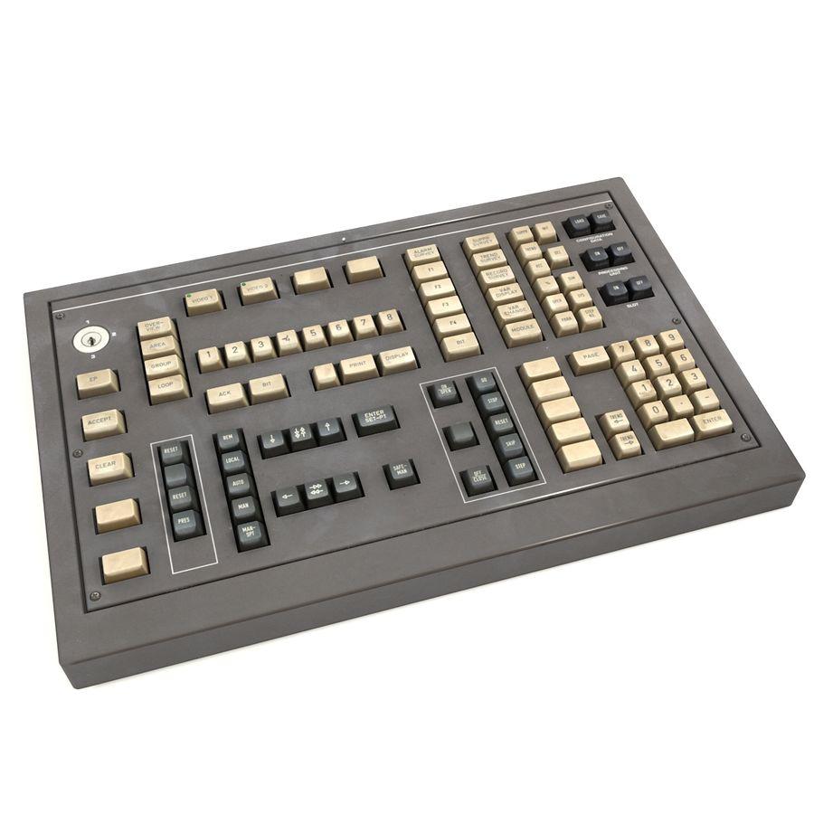 键盘卡座 royalty-free 3d model - Preview no. 1