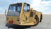Tractor de remolque de aviones FMC B600 modelo 3d