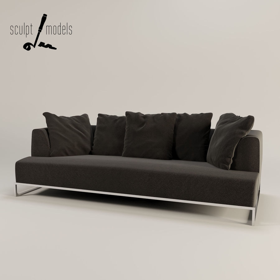 Groovy Solo Sofa 3D Model 35 Unknown Max Obj Free3D Ibusinesslaw Wood Chair Design Ideas Ibusinesslaworg