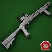 Shotgun Mossberg 590A Tactical 3d model