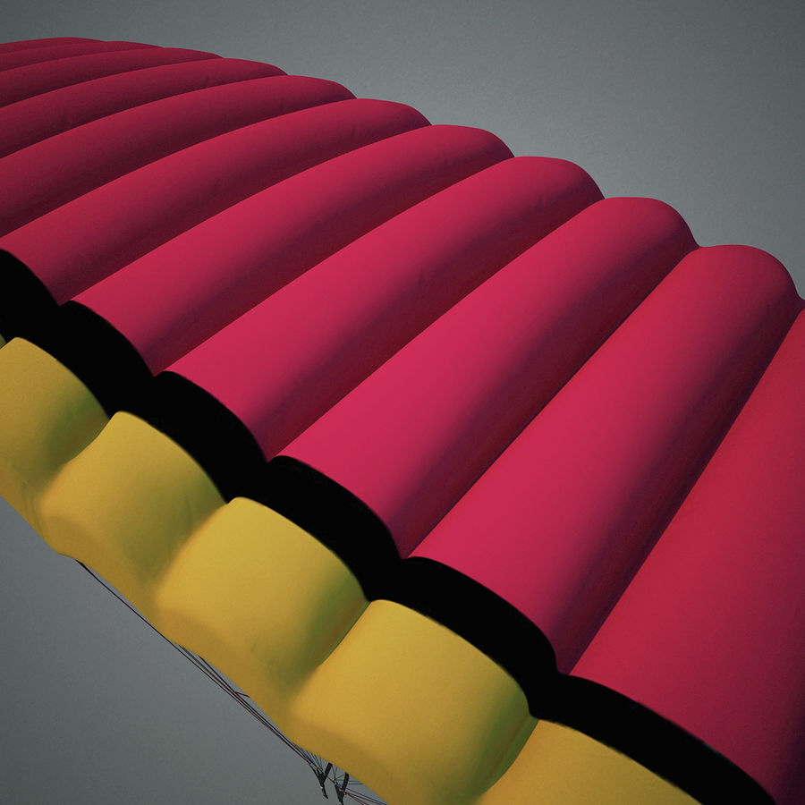 Paragliding royalty-free 3d model - Preview no. 8