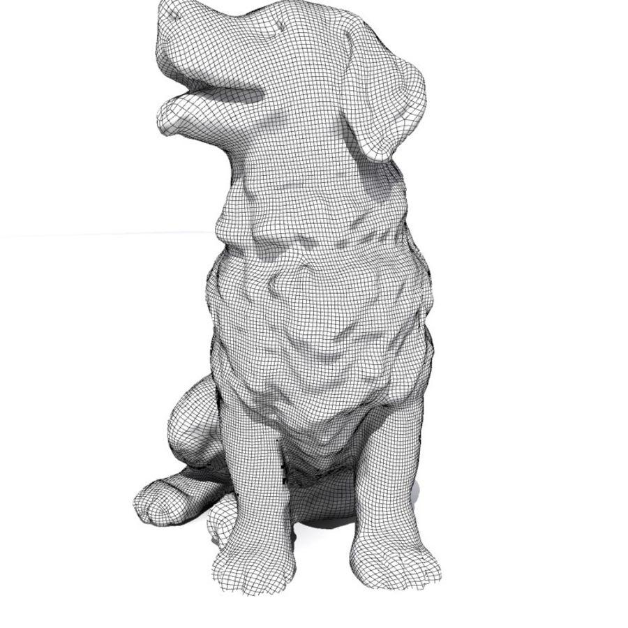 Chien de montagne bernois royalty-free 3d model - Preview no. 7