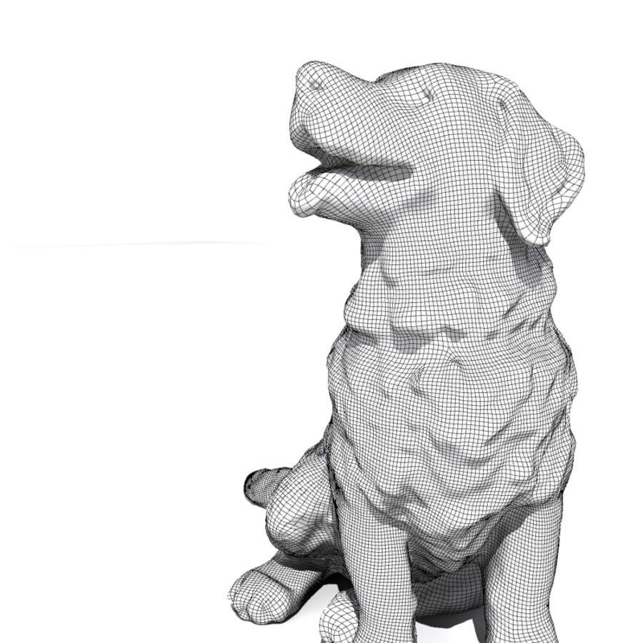 Chien de montagne bernois royalty-free 3d model - Preview no. 6
